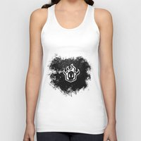 bleach Tank Tops featuring Bleach BW 2 by Bradley Bailey