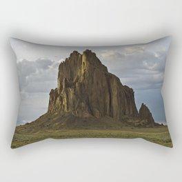 Shiprock, New Mexico. Rectangular Pillow
