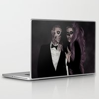 dna Laptop & iPad Skins featuring Same DNA by AdamAether