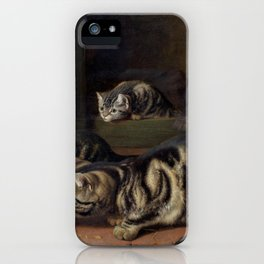 Curiosity - Horatio Henry Couldery iPhone Case