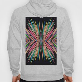 Toothpick Fusion Abstract Pattern Hoody