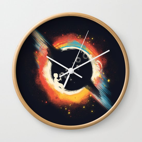 Void (introversive ed) Wall Clock