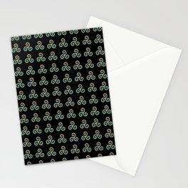 Triskele 3 -triskelion,triquètre,triscèle,spiral,celtic,Trisquelión,rotational Stationery Cards