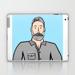 Beard Boy: Greg Laptop & iPad Skin