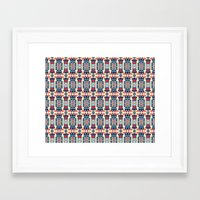 camp Framed Art Prints featuring Camp by Daniac Design