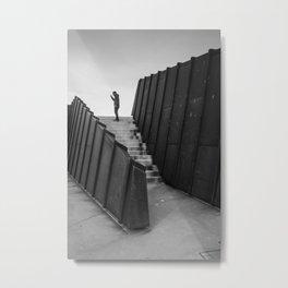 Lone Man Metal Print