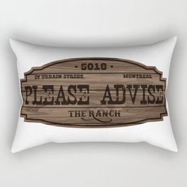 The Ranch Sign Rectangular Pillow