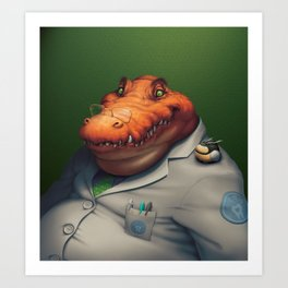 Dentist Art Print