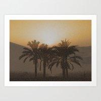 arabic Art Prints featuring Arabic by Louise Machado