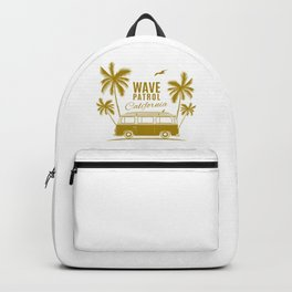 Wave Patrol California Backpack