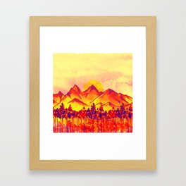 Landscape #05 Framed Art Print