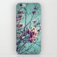 vintage flowers iPhone & iPod Skins featuring Vintage Flowers by ALP-Fotografie