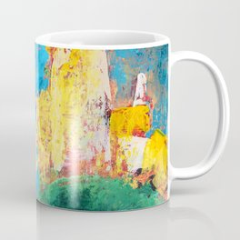 Castle on a Hill and in the Clouds a Chariot Coffee Mug