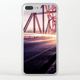 To The World. /// Clear iPhone Case