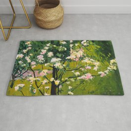 "Koloman (Kolo) Moser ""Flowering tree"" Rug"