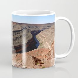 A Meander Of The Goosenecks Coffee Mug