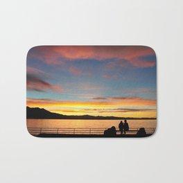 Tahoe Sunsets. Bath Mat