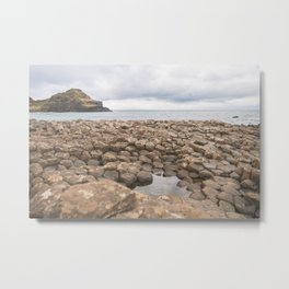 Giants Causeway in Ireland Metal Print