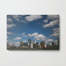 always cloudy in minneapolis Metal Print