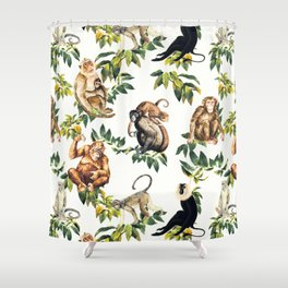 Monkeys Orangutans And More Shower Curtain