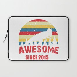 awesome since 2015 Laptop Sleeve