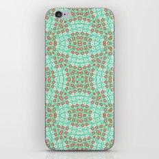 Kaleidoskope rings pattern iPhone & iPod Skin