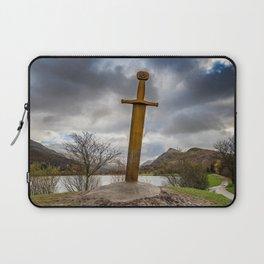 Sword of Llanberis Snowdonia Laptop Sleeve