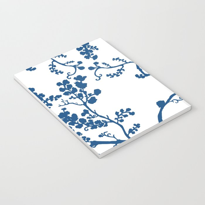Blue Blossom Notebook