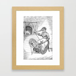 Witch Woman Framed Art Print