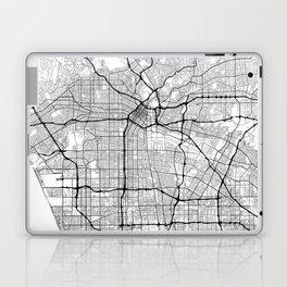 Minimal City Maps - Map Of Los Angeles, California, United States Laptop & iPad Skin