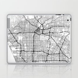 Minimal City Maps - Map Of Los Angeles, California, United States Laptop & iPad Skin