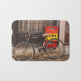 Worn Bicycle Bath Mat