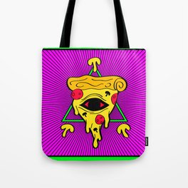 The Great Illuminazati Thrice Topped (color ver.) - Brock Springstead Tote Bag