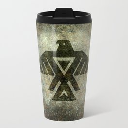Thunderbird flag - Vintage grunge version Travel Mug