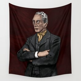 Portrait of an Illustrator - Rockwell Wall Tapestry