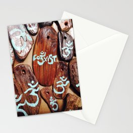 Coexist and OM symbol Stationery Cards