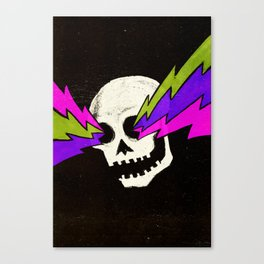 Variations on a Skull Part One Canvas Print