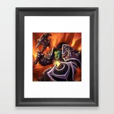 orc Framed Art Print