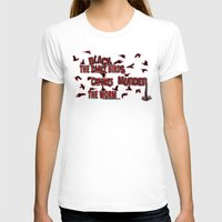 dramatical murder T-shirts featuring MURDER  -  021 by Lazy Bones Studios