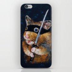 Ninja Hamster iPhone & iPod Skin