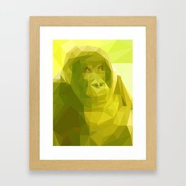 "Fragments ""Gorilla"" Framed Art Print"