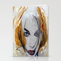 blondie Stationery Cards featuring Blondie by Capracotta Art