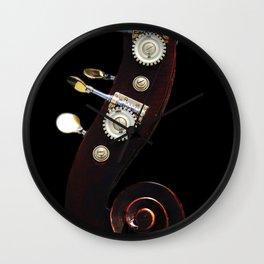 Bass 2 Wall Clock