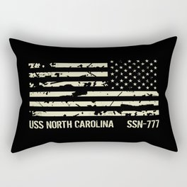 USS North Carolina Rectangular Pillow