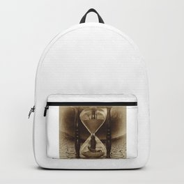 Sands of Time ... Memento Mori - Sepia Backpack