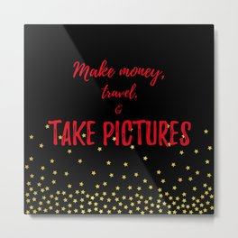 Photographer Gifts Metal Print