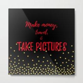 Photographer Gifts Metal Print