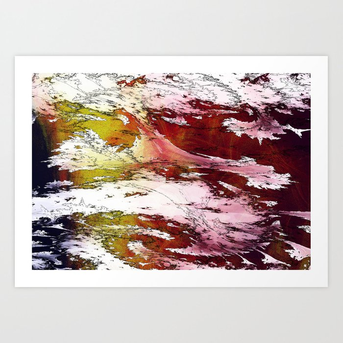 severe weather but tornado Art Print