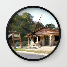 Hanging Rock & Peavine Hollow Series, No. 16 Wall Clock