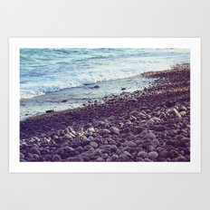 sea coast Art Print